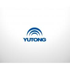 2202-00070 Кардан передний, в сборе с подвесным и фланцем Yutong (Ютонг)
