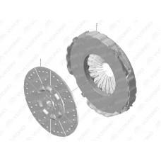 1601-01140 Ведомый диск сцепления Yutong (Ютонг)