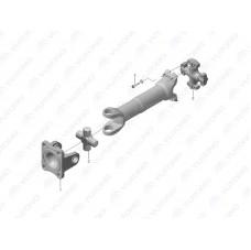 2201-02706 Болт, крепления карданного вала к крестовине Yutong (Ютонг)
