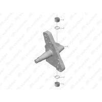 3001-01428 Поворотный кулак левый Yutong (Ютонг)