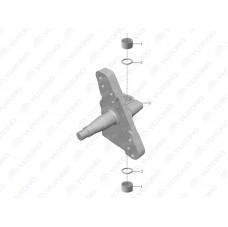 3001-01428 Поворотный кулак левый Yutong (Ютонг).
