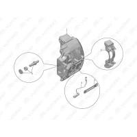 3501-00162 Суппорт тормозной передний Yutong (Ютонг)