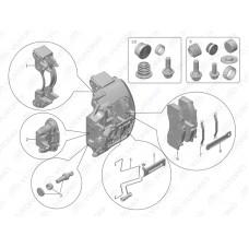 3501-00233 Тормозной суппорт Yutong (Ютонг)
