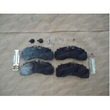 3501-02424 Комплект тормозных колодок на ось Yutong (Ютонг).