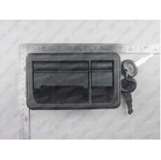 5604-00216 Ручка с замком крышки багажного отсека в сборе Yutong (Ютонг)